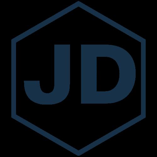 Blue Hexagon Shape Architectural Logo-5